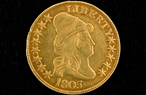 1803 Ten Dollar U.S. Gold Eagle Coin