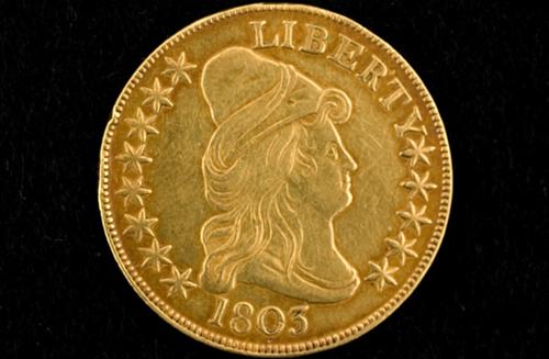 1803 Ten Dollar U.S. Gold Eagle Coin