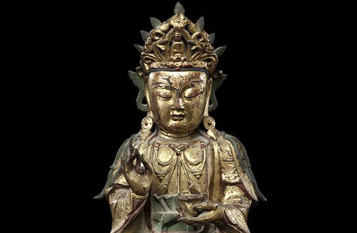 Ming Period Bronze Guanyin