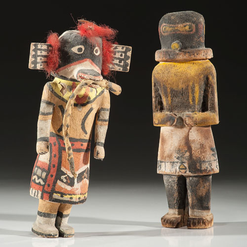 Hopi Saviki and Zuni Warrior God Katsinas