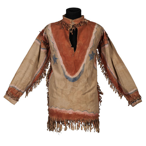 Sioux Painted Ghost Dance Shirt