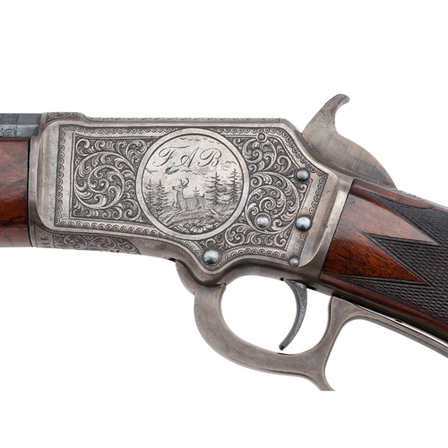 Factory Engraved Marlin Model 1891 Third Variation Rifle