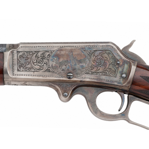 Factory Engraved Marlin Model 1893 Lever Action Rifle