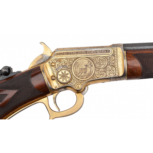 Factory Engraved Marlin Model 1897