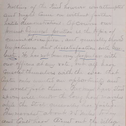 James McLean Steele, 1868-1869 Diary