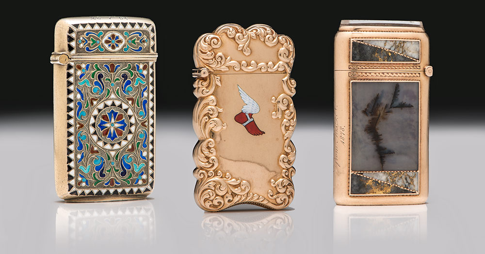 The Magnificent Match Safe Collection of David and Holiday Winfield<br>Live Online Auction