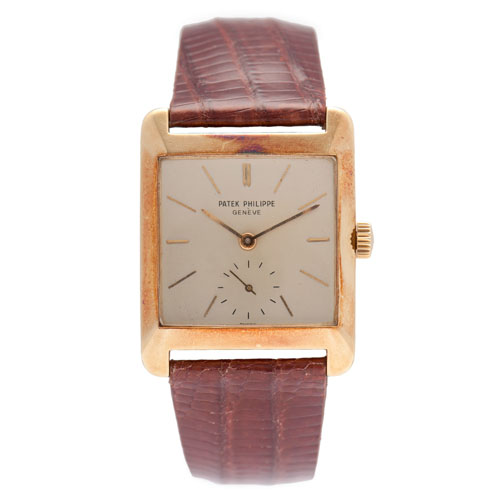 Patek Philippe 18 Karat Yellow Gold Wrist Watch Ca. 1952
