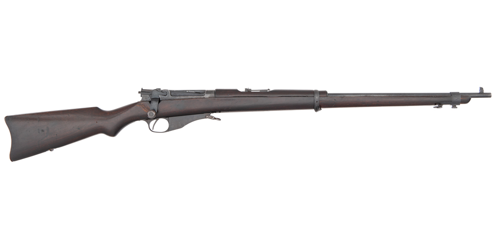 Winchester U.S. Model 1895 Lee Rifle Salvaged from USS Maine