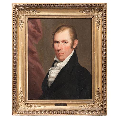 First Portrait of Henry Clay by Matthew Harris Jouett