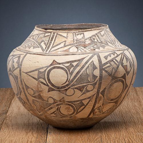 Zuni Pottery Olla