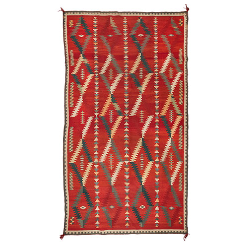 Navajo Germantown Weaving, From The Harriet and Seymour Koenig Collection