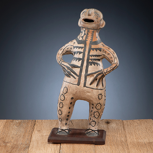 Cochiti Pottery Figure, From The Harriet and Seymour Koenig Collection