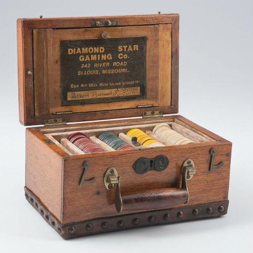 Cattle Baron Albert Bothwell, Personal Gambling Box