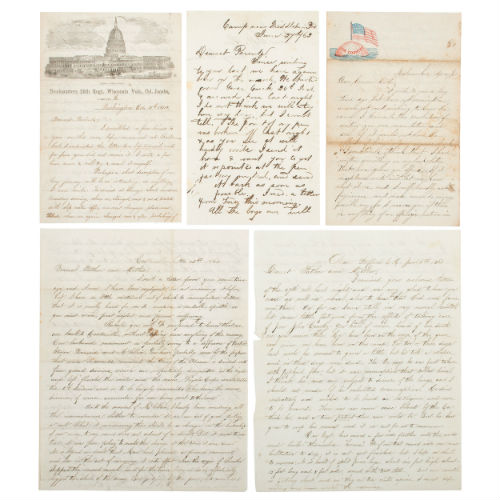 Civil War Archive of George W. Jones, 26th Wisconsin Infantry