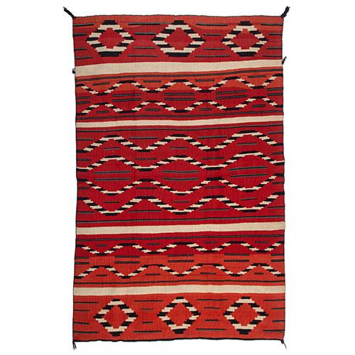Navajo Late Classic Serape