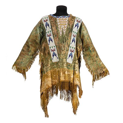 Sioux Beaded Hide Shirt