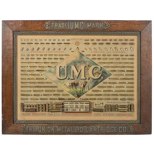 Remington UMC Cartridge Board